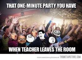 Funny Party Memes - one minute party the meta picture