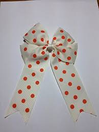 cheer bows uk large cheer bow with hair bows hair accessories polka