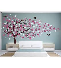 buy print mantras wall stickers beautiful large cherry blossom tree