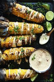 how to make sriracha mayo grilled corn with sriracha aioli minimalist baker recipes