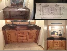 used bathroom vanity modern interior design inspiration