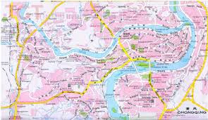 Xi An China Map by Chongqing Maps Map Of Chongqing China Chongqing Tourist Maps