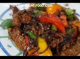 cuisine steak beef pepper stir fry recipe wok cooking