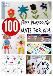 100 free playdough mats playdough plato
