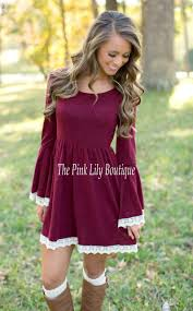just the sweetest dress burgundy the pink lily boutique
