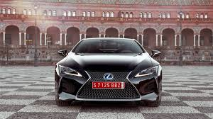 lexus sedan dimensions 2018 lexus lc500 and lc500h review with price horsepower and