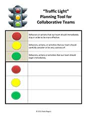 traffic light tools for great teachers