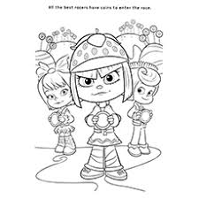 10 wreck ralph coloring pages