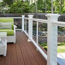 Banister Caps Best 25 Cable Deck Railing Ideas On Pinterest Deck Railings