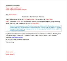 free termination letter template 33 free sample example