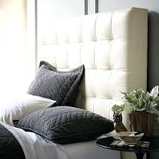 Tufted Leather Headboard Tufted White Leather Headboard Mirador Me