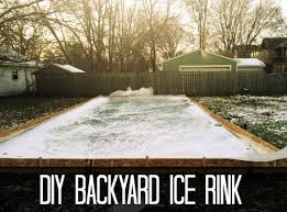diy backyard ice rink homestead u0026 survival
