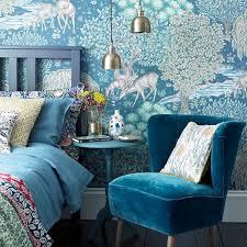 modele tapisserie chambre 1001 astuces et idées pour choisir un papier peint chambre tendance