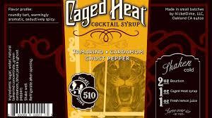 caged heat cocktail syrup by nickeldime llc u2014 kickstarter