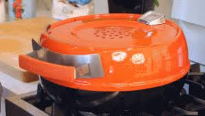 stovetop pizza oven pizzeria pronto stovetop pizza oven cook a pizza in 6 minutes