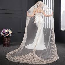 wedding veils for sale chagne wedding veils 2017 real images new style sequins lace