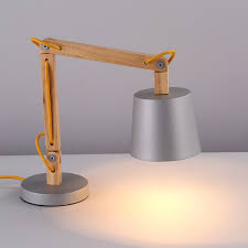 Diy Led Desk Lamp 22 Excellent Wooden Desk Lamps Yvotube Com