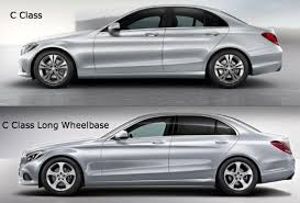 mercedes c class model history mercedes c class wheelbase launched in china compared