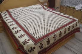 buy nayasha fab india jaipuri cotton double bedsheet online