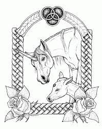 80 dessins de coloriage licorne à imprimer sur LaGuerchecom  Page 5