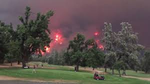 Wild Fires In Oregon State by Smoky Haze Settles In Seattle Area As Wildfires Rage In Washington