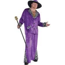 Riddler Halloween Costume Sugar Daddy Pimp Costume Size