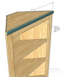 How To Build A Corner Bookcase Free Corner Shelf Plans How To Build A Corner Shelf Small