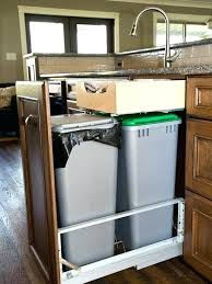 foot pedal hand sink foot pedal sink under cabinet trash small under sink pull out trash