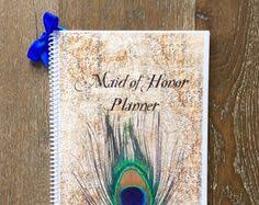 of honor planner book of honor wedding planner book wedding by organizedbride