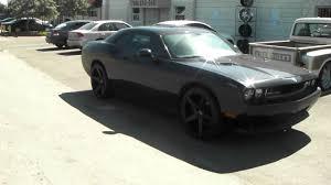 Dodge Challenger Matte Black - 877 544 8473 22 inch kmc km685 district black concave rims 2012