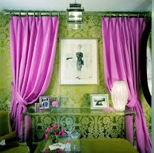 Curtains With Purple In Them Amanda Nisbet The Pink Drapes But Where To Use Them