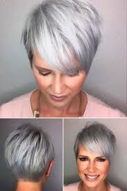 trendy gray hair styles 20 trendy short haircuts for women over 50 short haircuts women