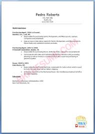 Sample Resume For Purchasing Agent by Booking Agent Resume Virtren Com