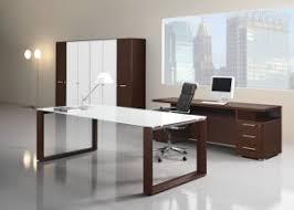 bureaux moderne bureau direction verre contemporain au design élégant vente