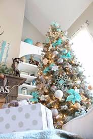 Teal Blue Christmas Tree Decorations by 40 Fresh Blue Christmas Decorating Ideas Family Holiday Net