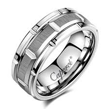 men tungsten rings images Tungsten rings for men caperci men 39 s 8mm brick pattern carbide jpg