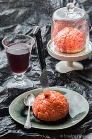 cuisine adict vanilla strawberry zombies brains dessert cuisine