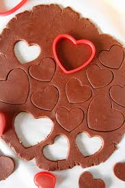 heart shaped cookies chocolate sugar cookies the kitchen is my playground