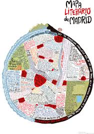 Literature Map Urban Spain Through Literature Literary Maps Of Madrid And
