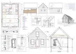 Cabin Blueprints Floor Plans Tiny House Plans Free To Download Print 8 Tiny House Blueprints 17