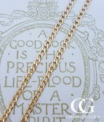 yellow gold necklace chains images 9ct yellow gold curb chain necklace fine 2 2mm 16 quot 24 inch length jpg