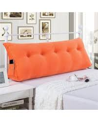 backrest pillow for bed new savings on large filled triangular sofa bed back cushion