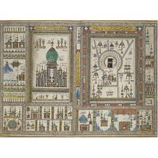 South India Map by A Hajj Map Of Mecca And Medina Probably South India Dated 1263