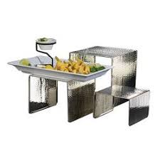 catering supplies display risers and shelves etundra