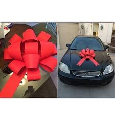 big bow for car present 9 best car bows images on christmas ideas big