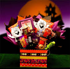 Candy Gift Basket Halloween Gift Baskets Halloween Candy Bouquets