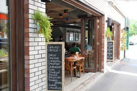 Restaurant Patio Planters by Bar Waverly An American In Montreal
