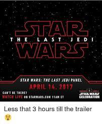 Et Is A Jedi Meme - cstar t h e l a s t war star wars the last jedi panel april 14 2017