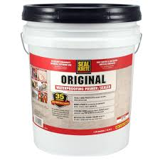 Exterior Paint With Primer Reviews - seal krete 5 gal original waterproofing sealer 100005 the home