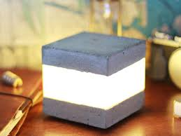 Cube Lights Concrete Led Light Cube 12 Steps With Pictures